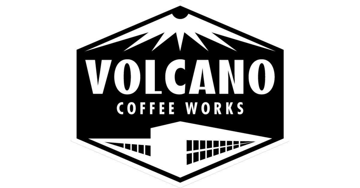 Volcano coffee logo