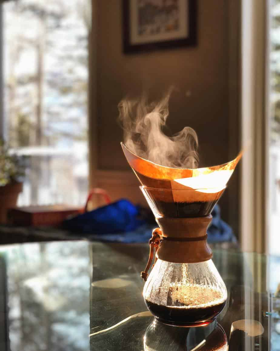 filter coffee | Photo by Caleb Dow on Unsplash