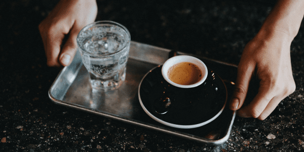 Why Is Mineral Water Served With Espresso.